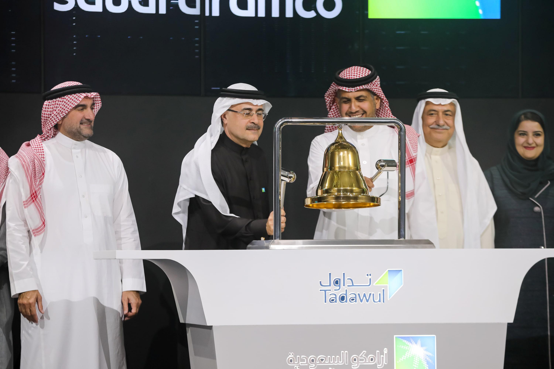 Saudi Aramco shares surge 10% as historic IPO begins trading