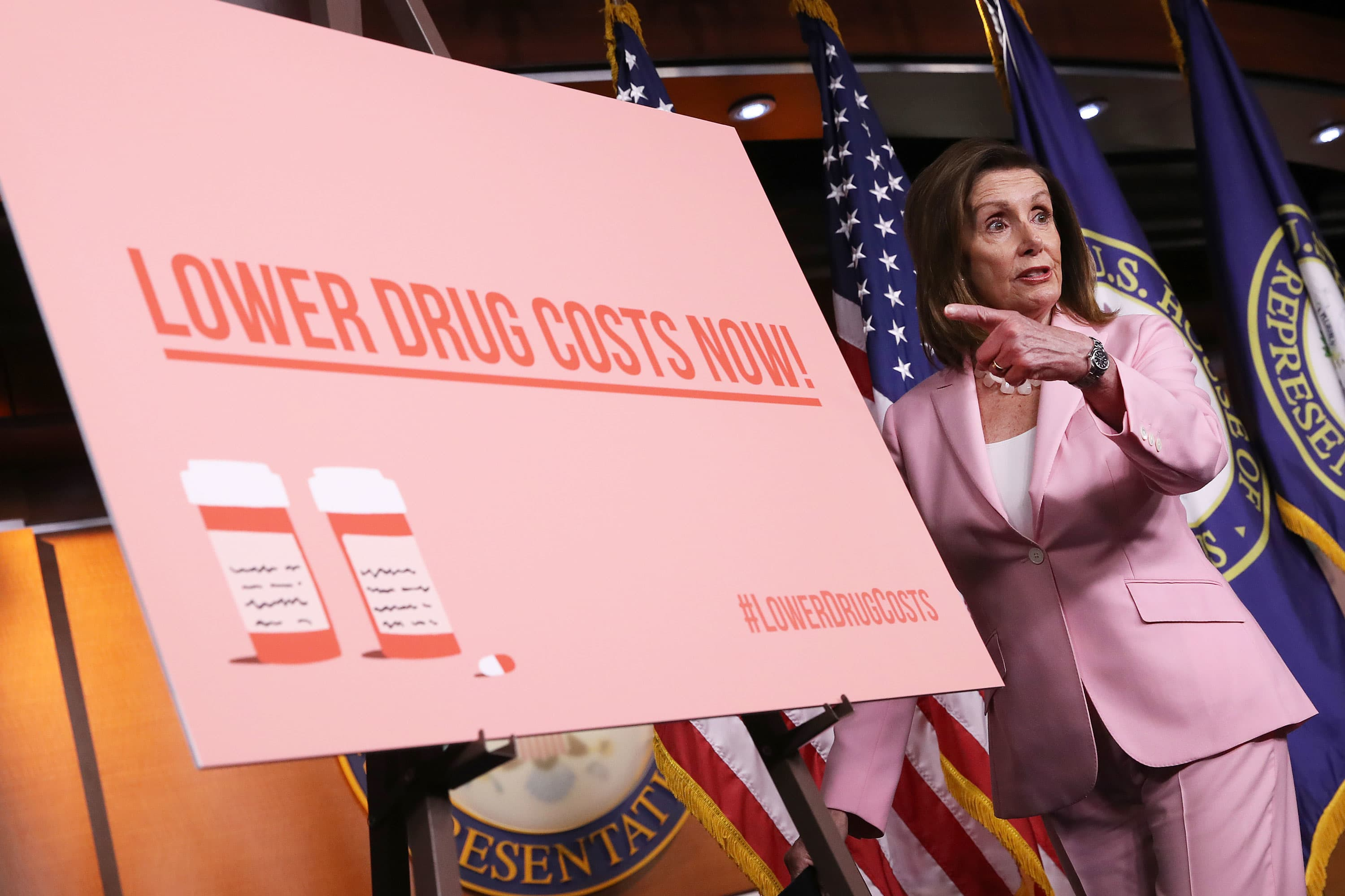 Pelosi agrees to expand drug price bill to win support from AOC, other Democrats