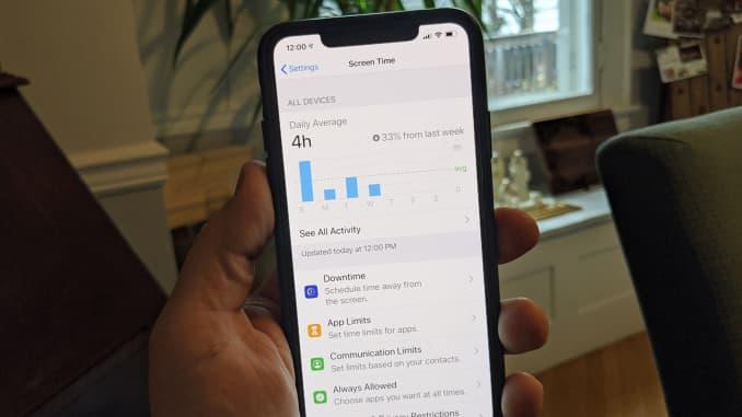 CNBC Tech: iphone parental controls 2