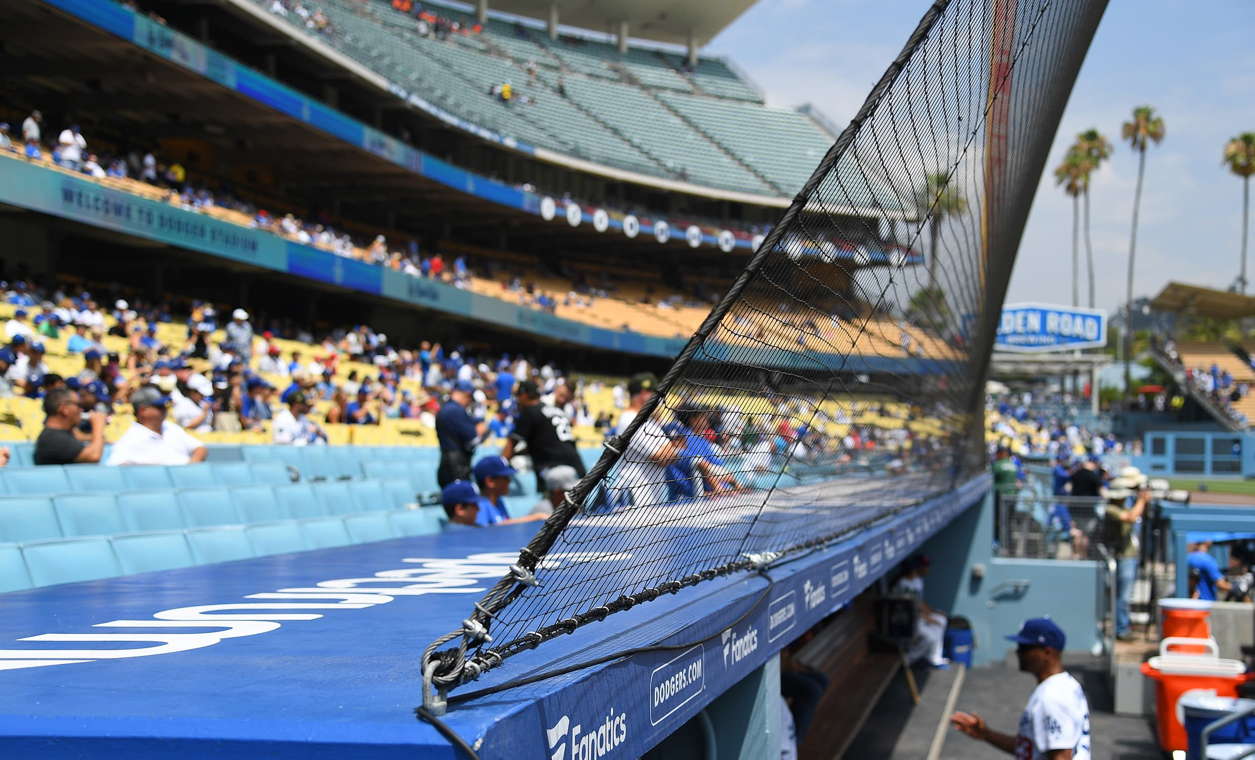 Baseball commissioner says all 30 MLB teams will expand protective netting for 2020 season