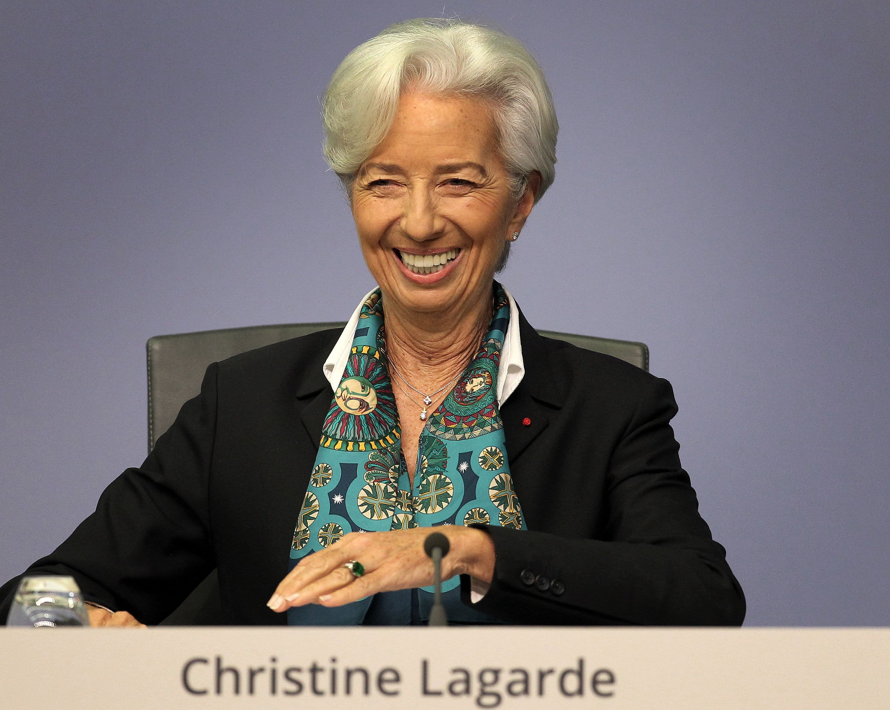 ECB's Lagarde: Seeing 'encouraging' signs on US-China trade and Brexit