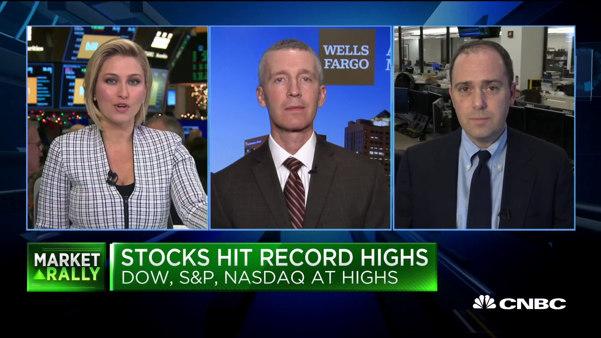 Market run-up due to improvement in trade sentiment, fundamentals: Wells Fargo's Jacobsen