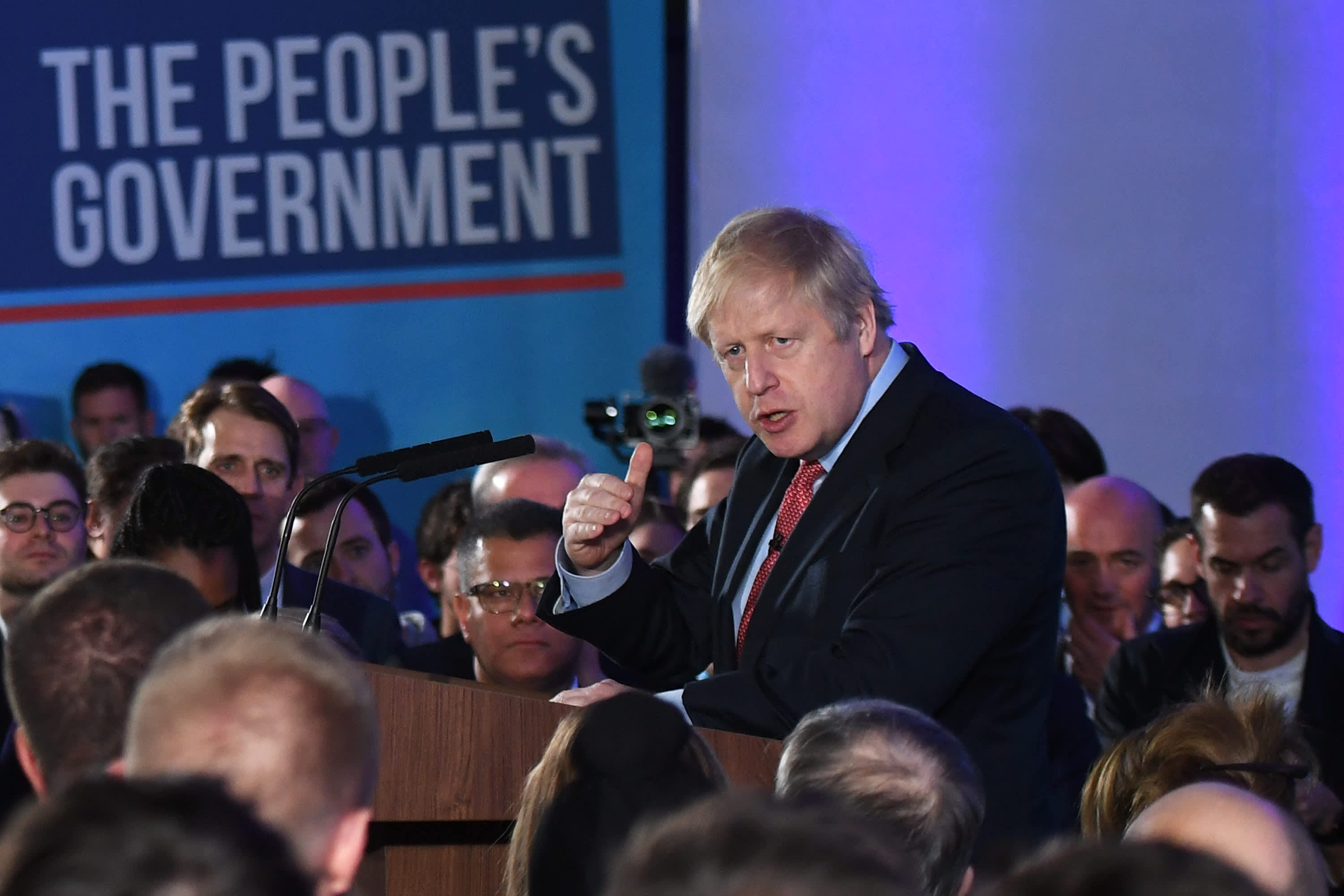 Boris Johnson secures biggest Conservative Party election win since 1987