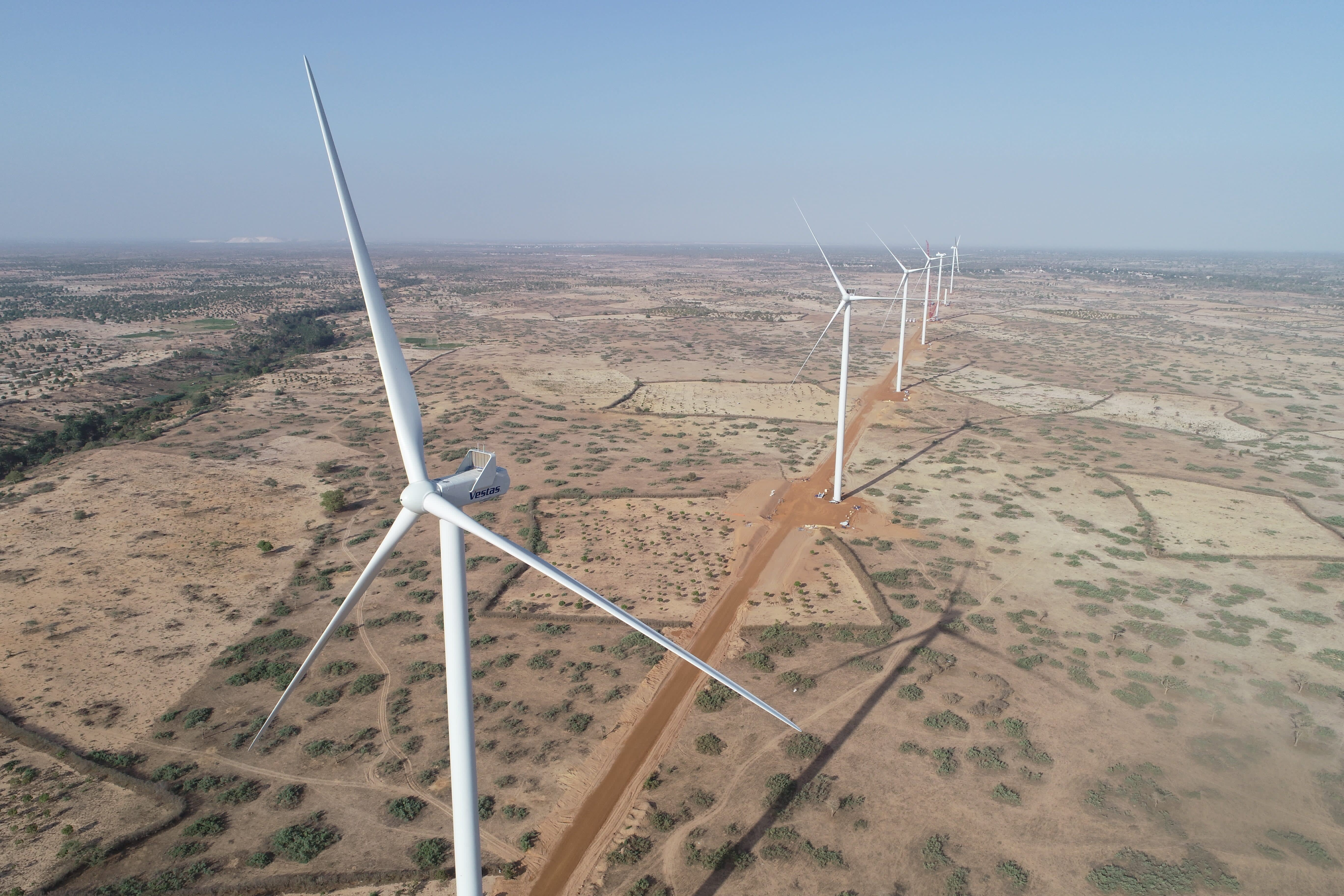 West Africa's first large-scale wind farm starts generating power