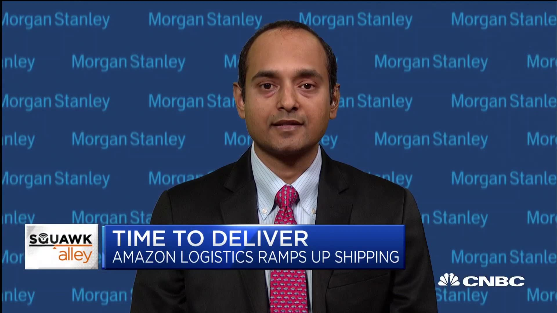 Amazon will be full-fledged UPS, FedEx competitor: MS freight analyst
