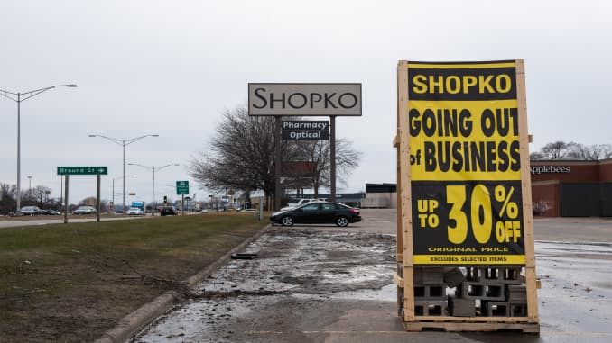 Shopko - going out of business
