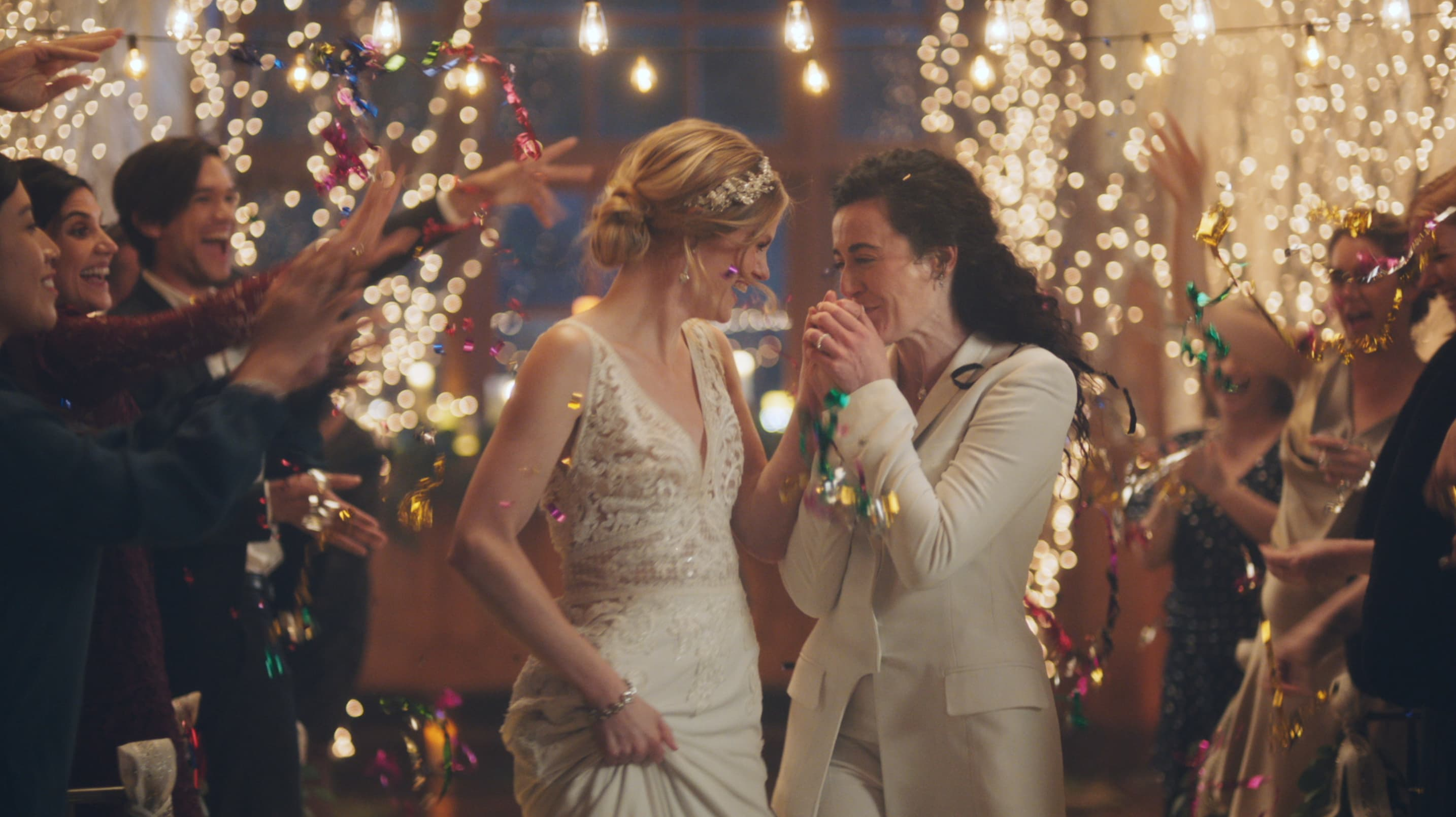 Zola pulls ads from Hallmark Channel after network censored brides kissing