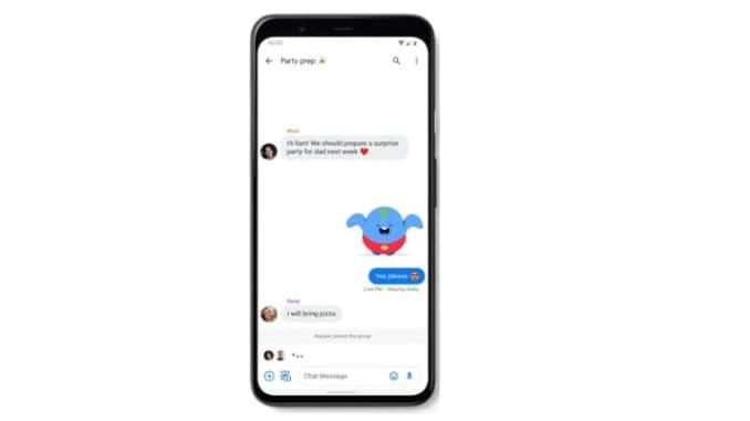 CNBC Tech: Google RCS chat