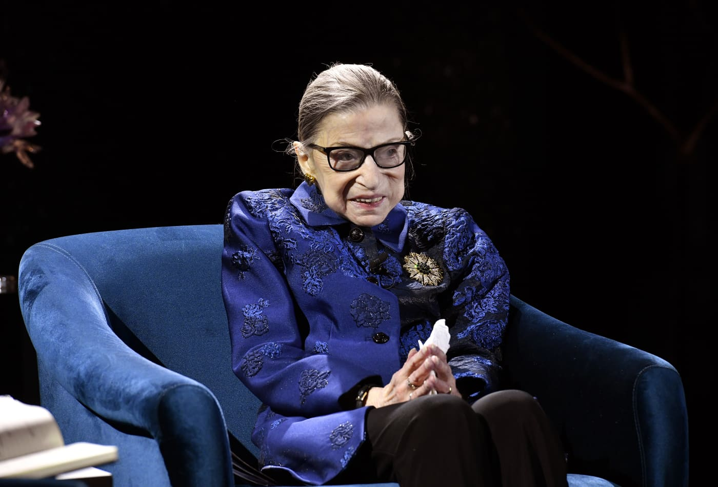 Justice Ruth Bader Ginsburg says she's 'cancer-free' after a flurry of health concerns
