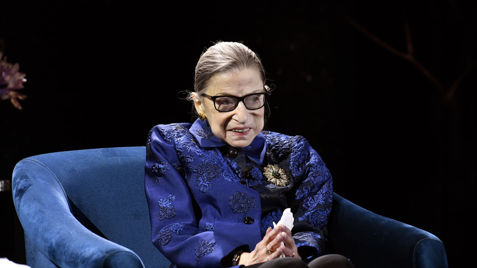 Ruth Bader Ginsberg Says Young People Keep Her Optimistic About Future