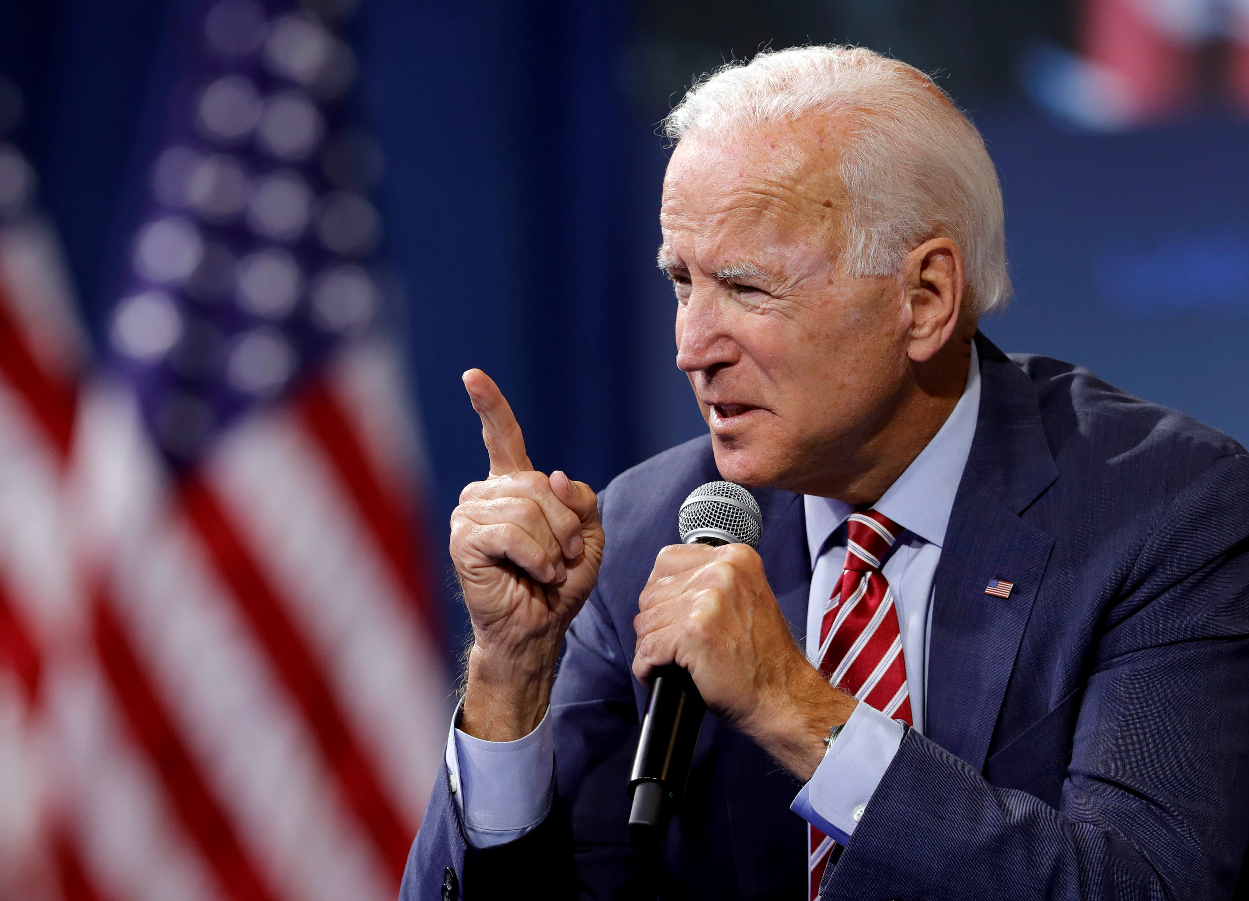Biden wants to get rid of law that shields companies like Facebook from liability for what their users post