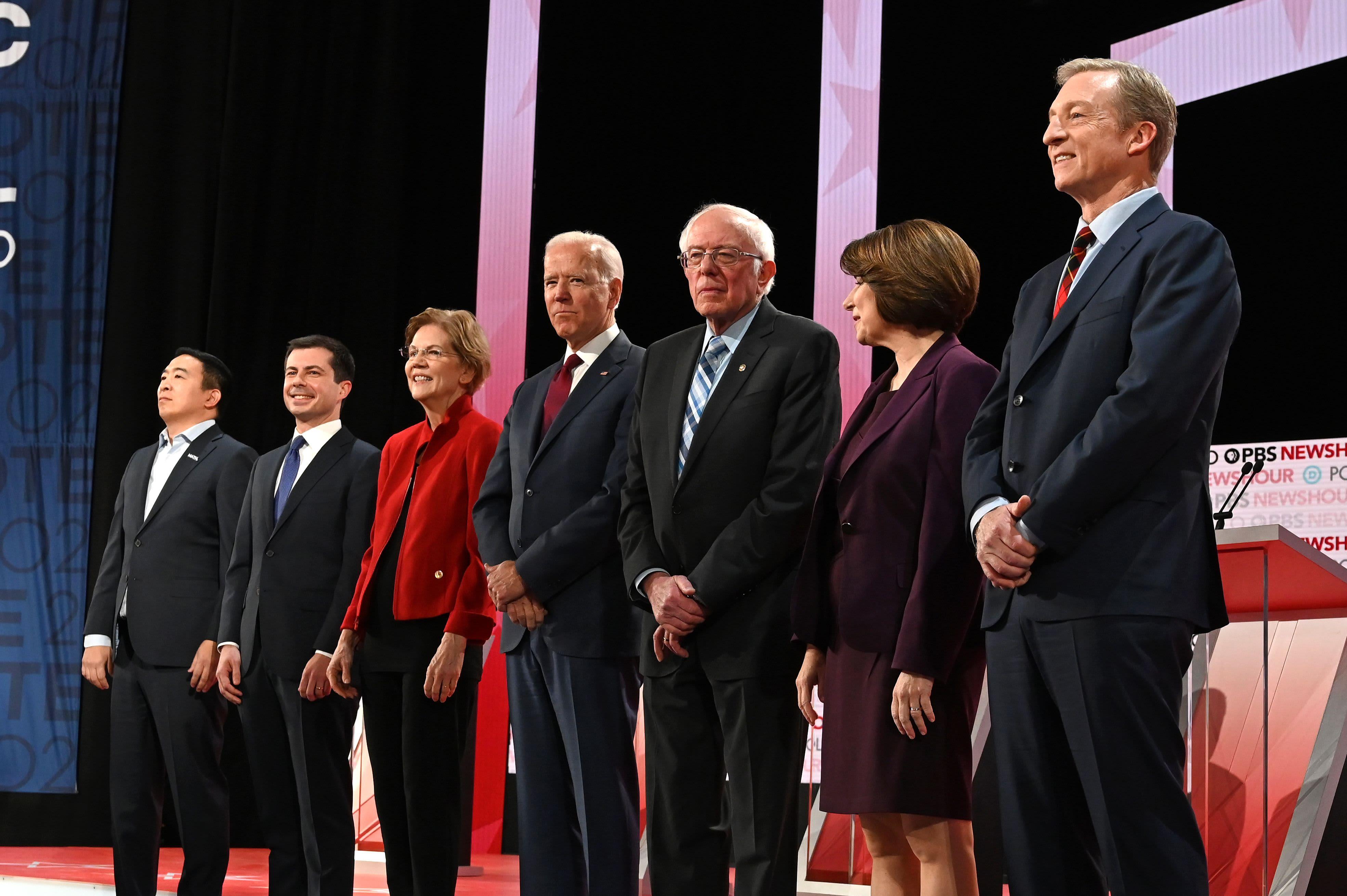 2020 Democrats sound off on Trump impeachment