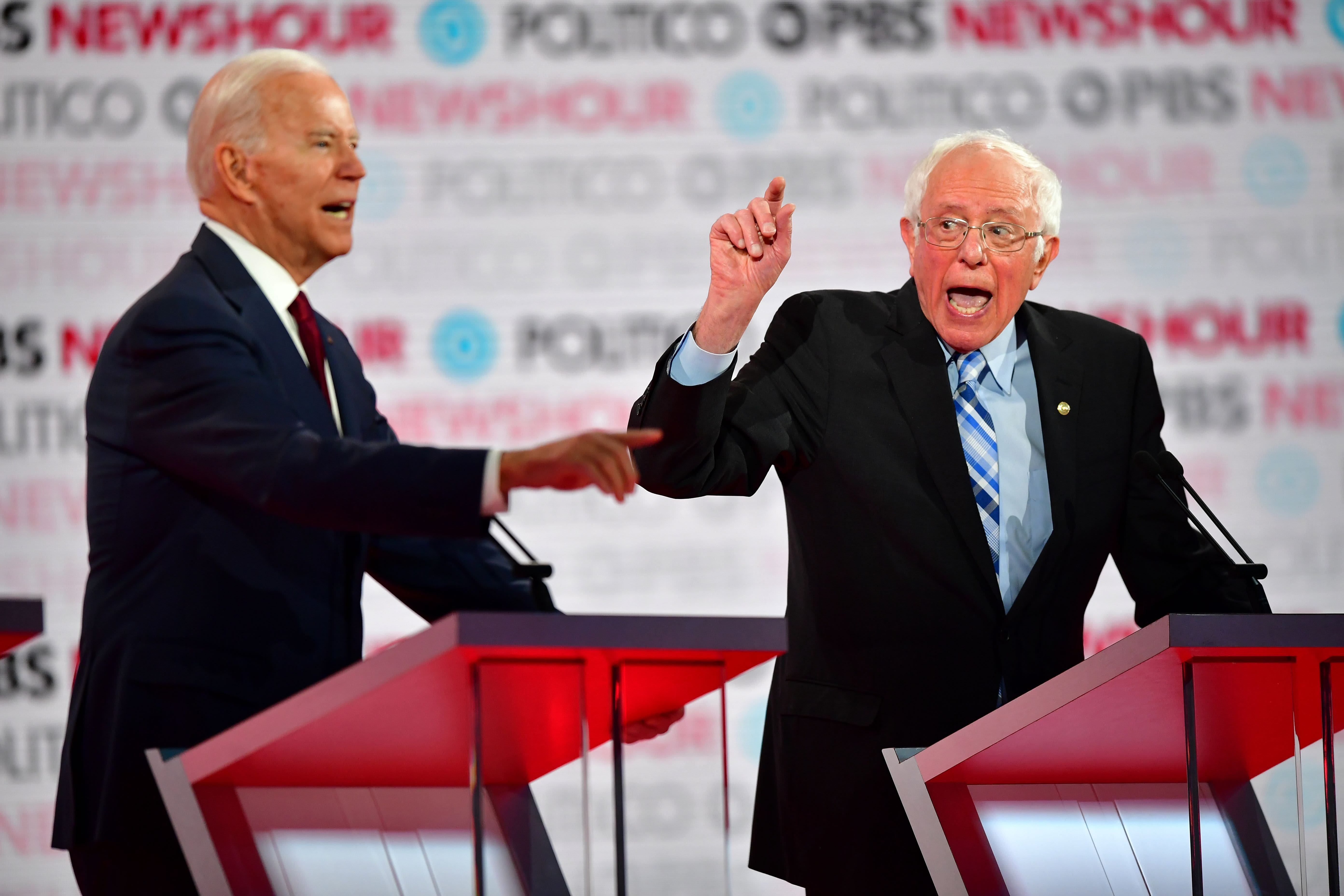 Polls show a logjam at the top of the 2020 Democratic field in Iowa and New Hampshire