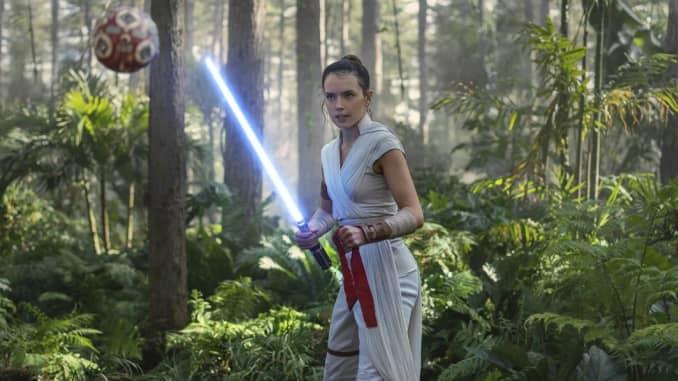 H/O: Rise of Skywalker Star Wars Rey Training
