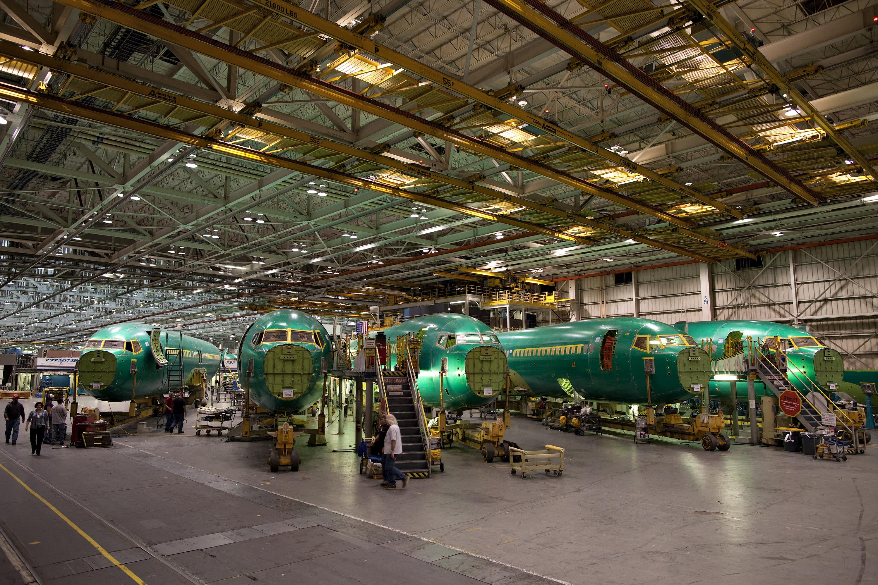 Boeing to suppliers: No 737 Max parts for a month as crisis prompts production halt