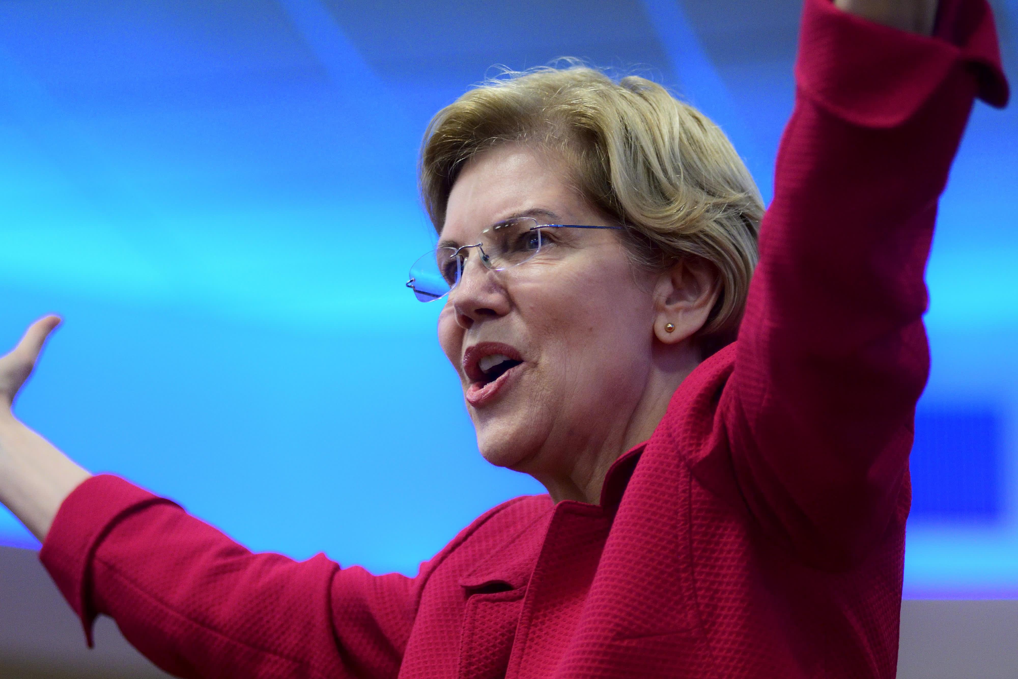 www.cnbc.com: Union divide puts Elizabeth Warren in a bind over USMCA vote as she seeks labor backing
