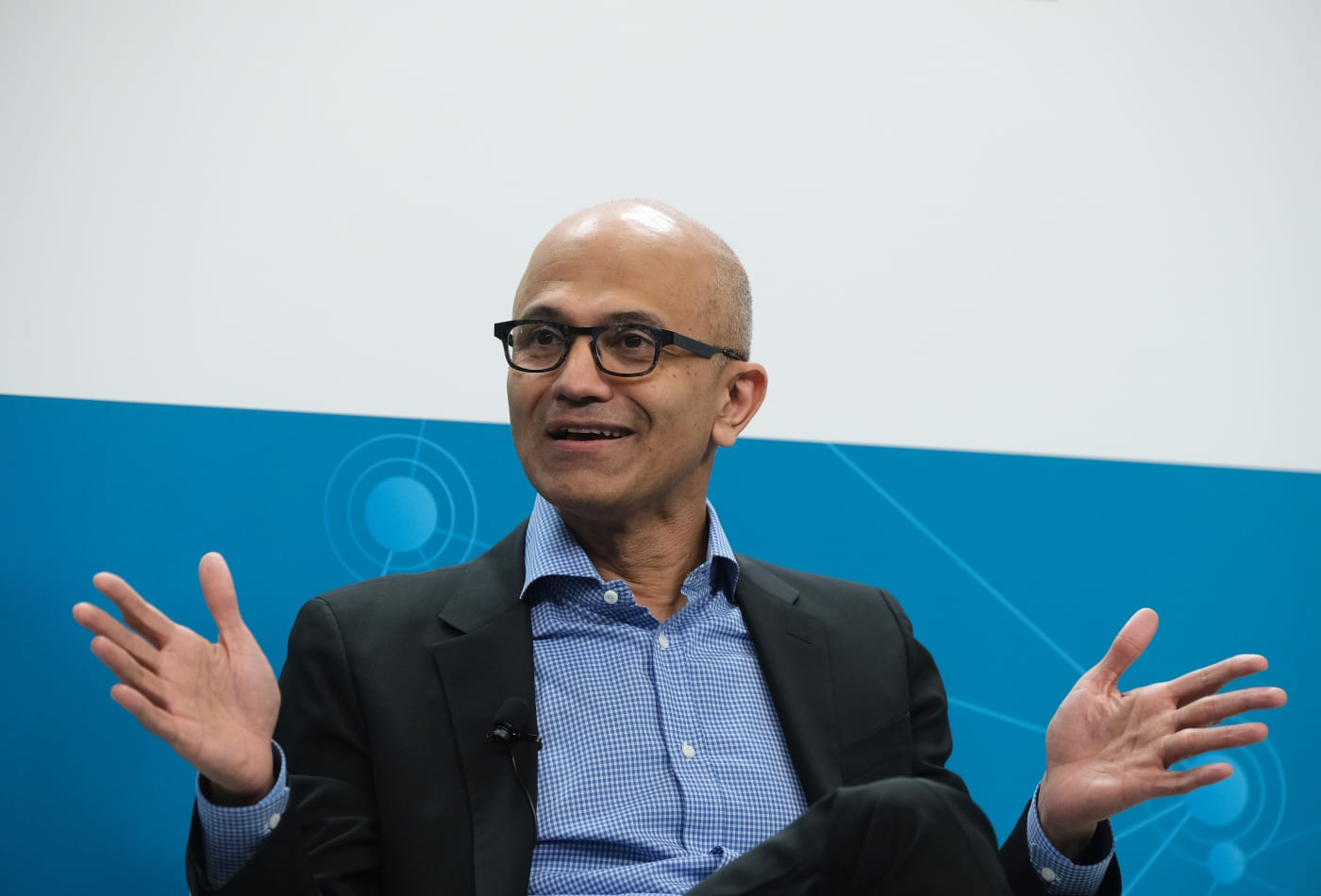 Microsoft's CEO does this instead work-life 'balance' — and Jeff Bezos agrees