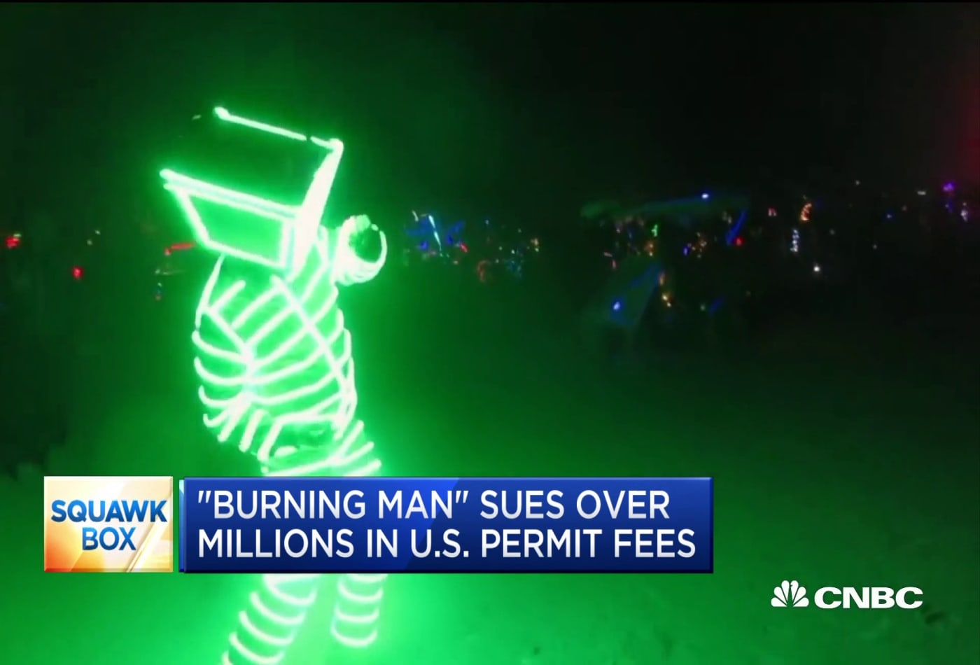'Burning Man' organizers sue federal government over millions in US permit fees
