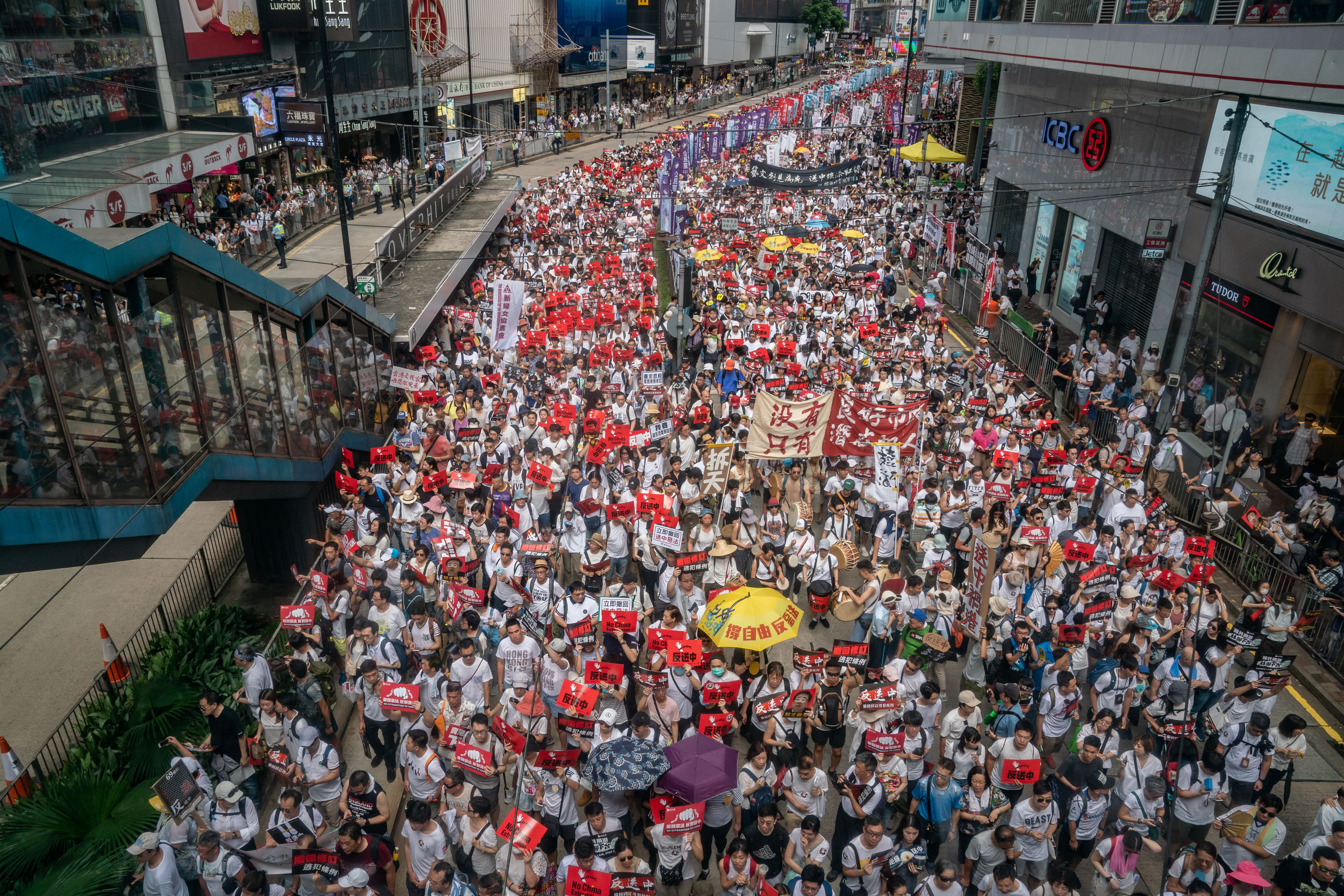 Hong Kong to end year with multiple protests and kick off 2020 with a big march