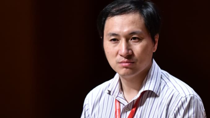 GP: He Jiankui a Chinese scientist who edited genes
