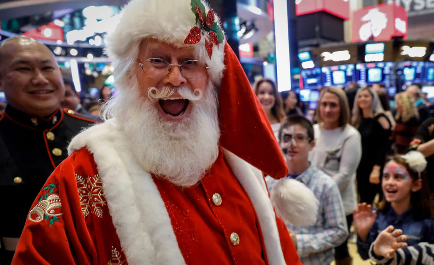 Markets are in a classic 'Santa Claus' rally, but there may be a reckoning in January