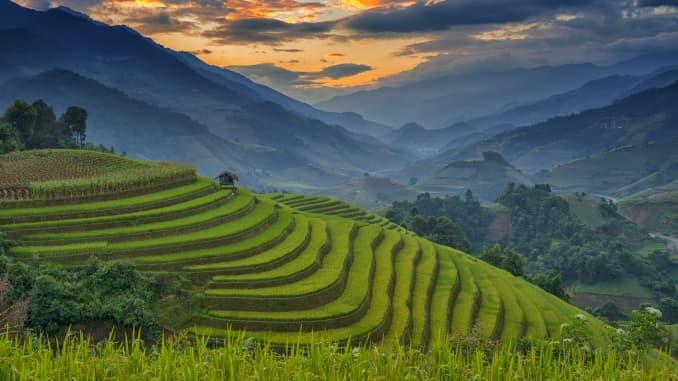 GP: Amazing Rice terraces at Mu Cang Chai, Vietnam 191231