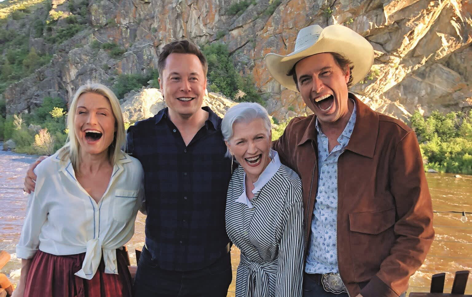 Elon Musk's mom on raising successful kids: 'I didn't treat them like babies or scold them'
