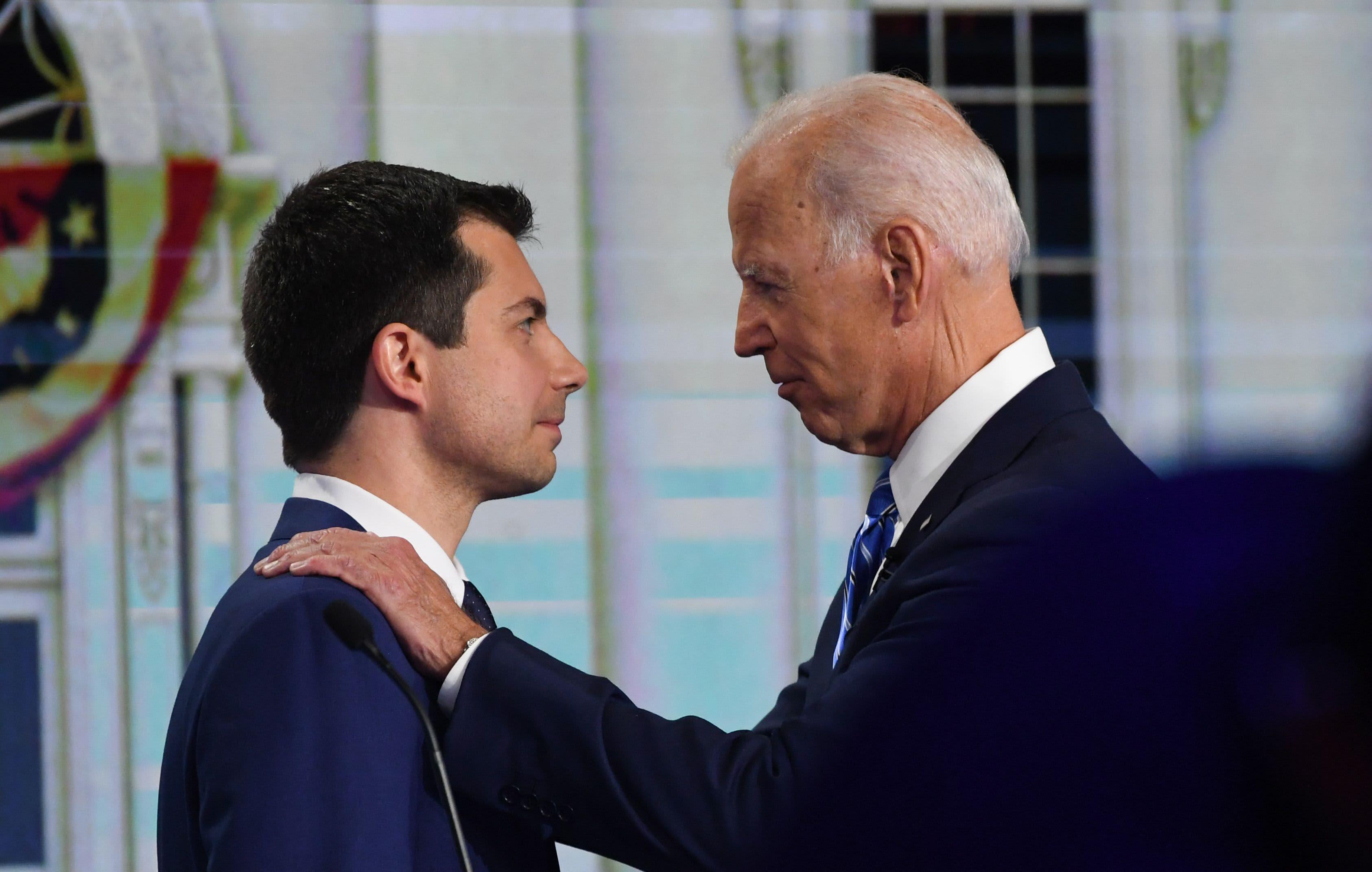 Buttigieg jabs at Biden's Ukraine work, says focus is Trump impeachment