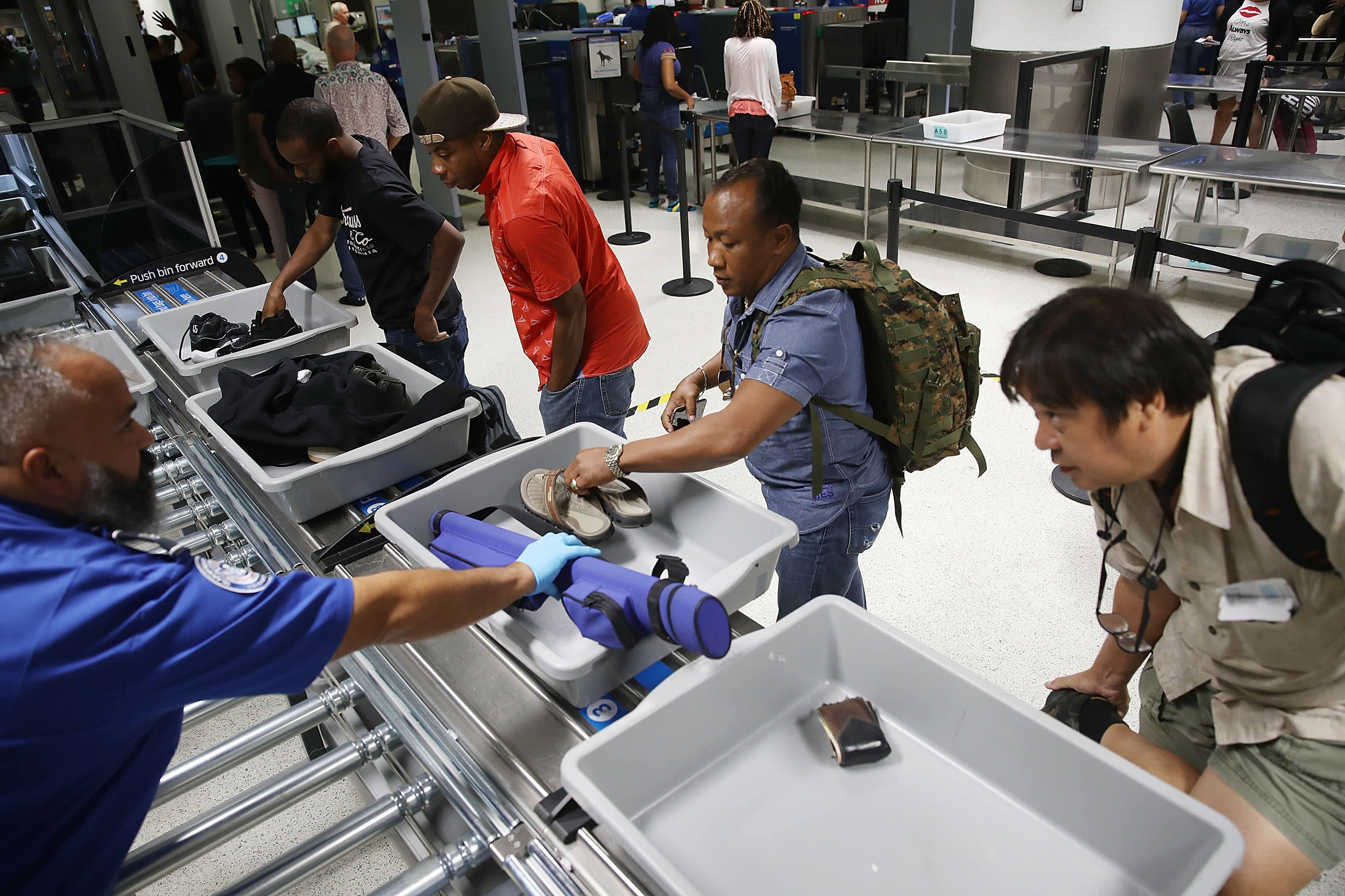 Here's how to avoid leaving things behind at airport security