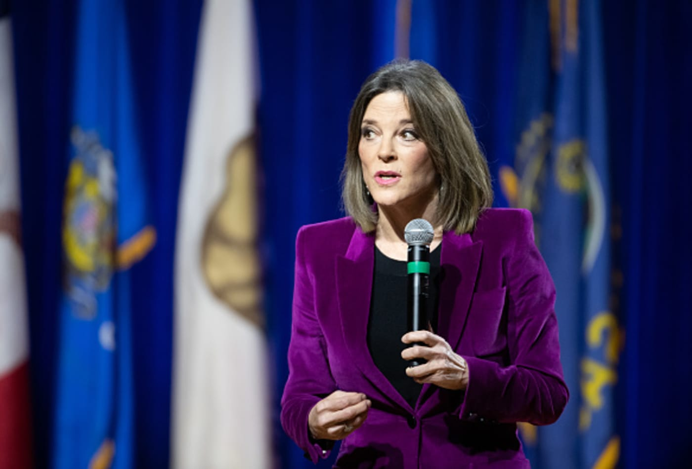 Author and self-help guru Marianne Williamson is out of the 2020 presidential race
