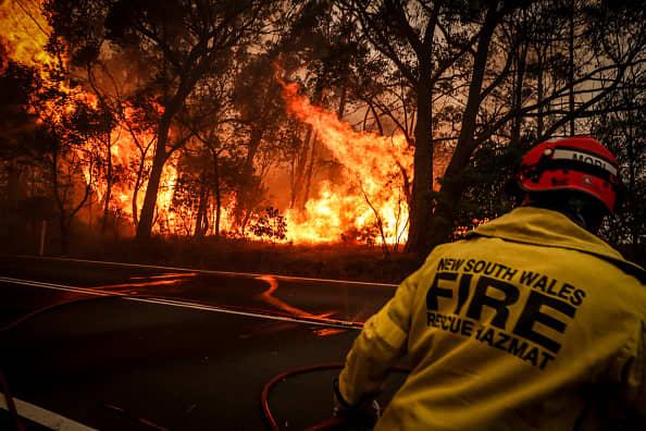 Australian bushfires will be a 'big drag' on growth, says economist