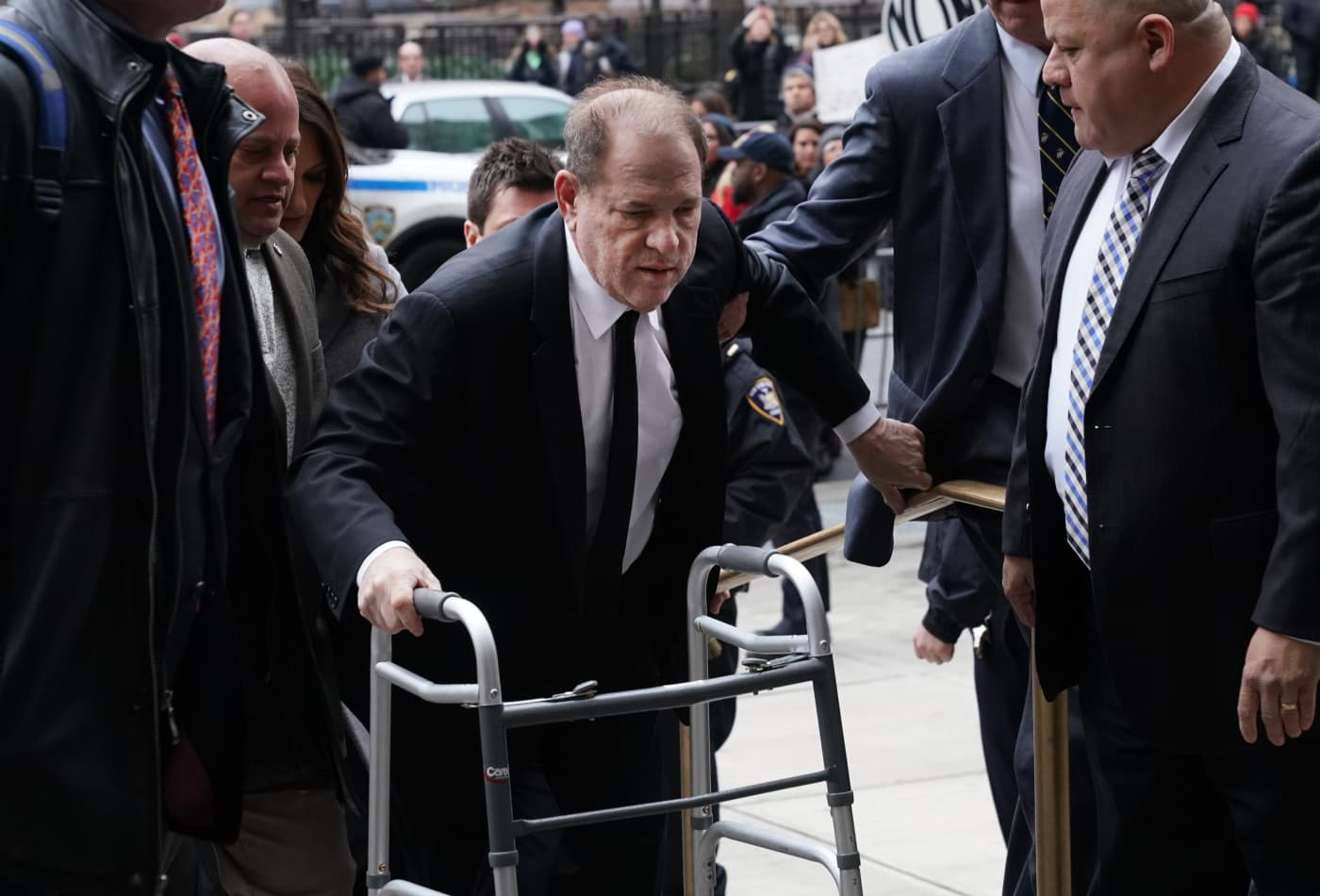 Harvey Weinstein charged in Los Angeles with rape, sex assault, as movie mogul kicks off rape trial in New York
