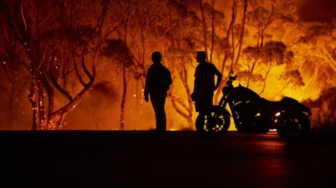 GP: Australia incendios forestales: Los avisos de evacuación emitidas en todo NSW como bomberos prepararse para Peligrosas Condiciones Bushfire
