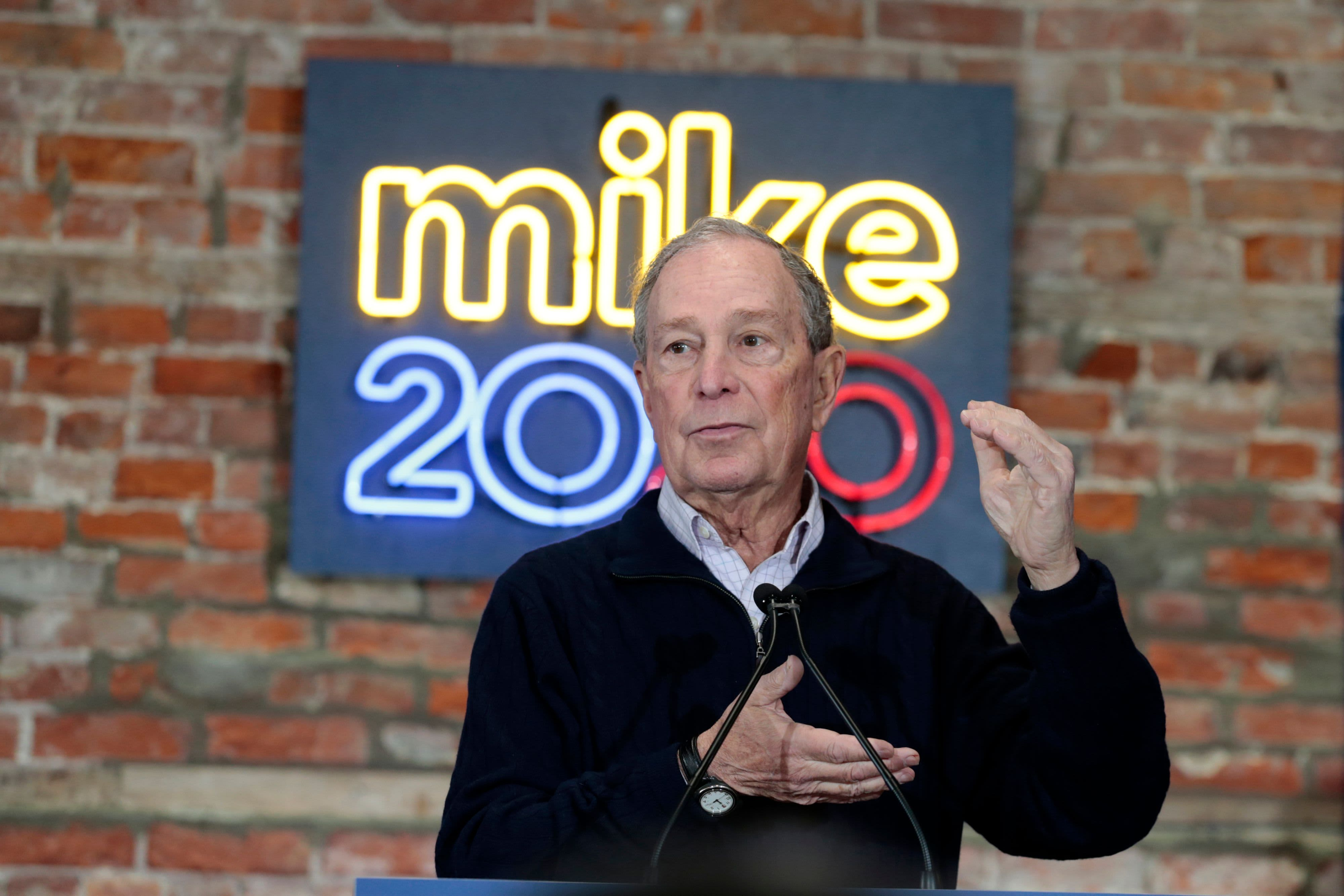Bloomberg to fund sizable campaign effort through November even if he loses Democratic nomination