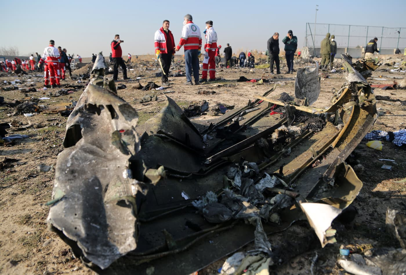Boeing 737 plane bound for Kyiv crashes in Iran, killing all 176 people on board
