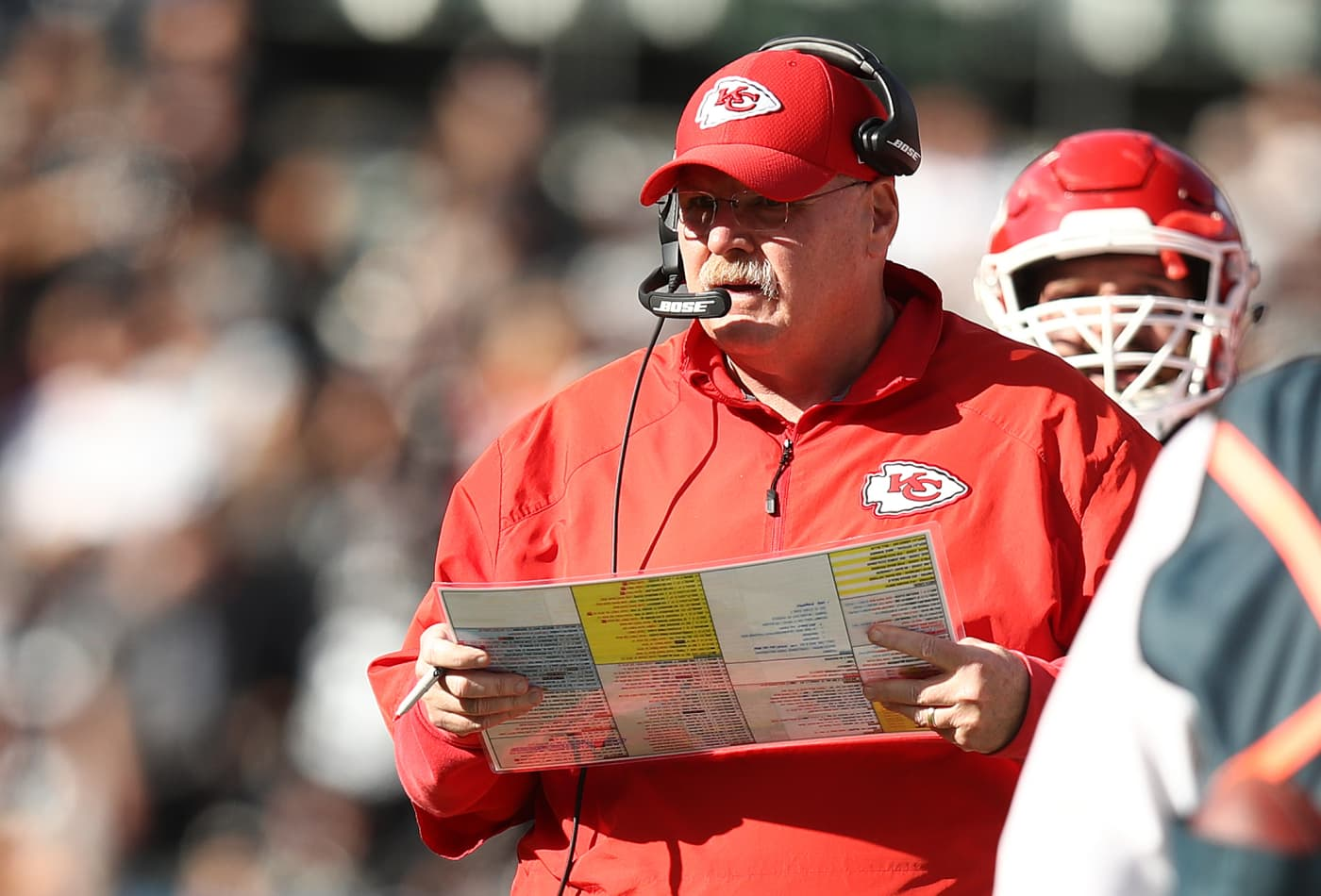 Chiefs coach Andy Reid still drives the car his dad bought for $25 in the 1940s
