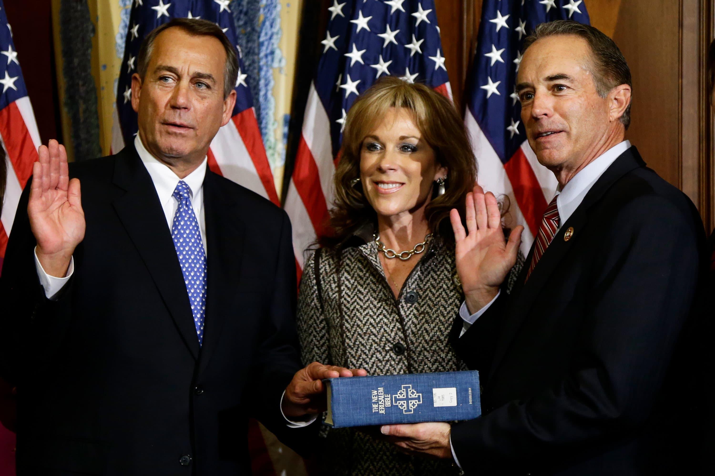 Ex-Speaker John Boehner calls lying former congressman Chris Collins 'good man' as defense requests no jail time in insider-trading case