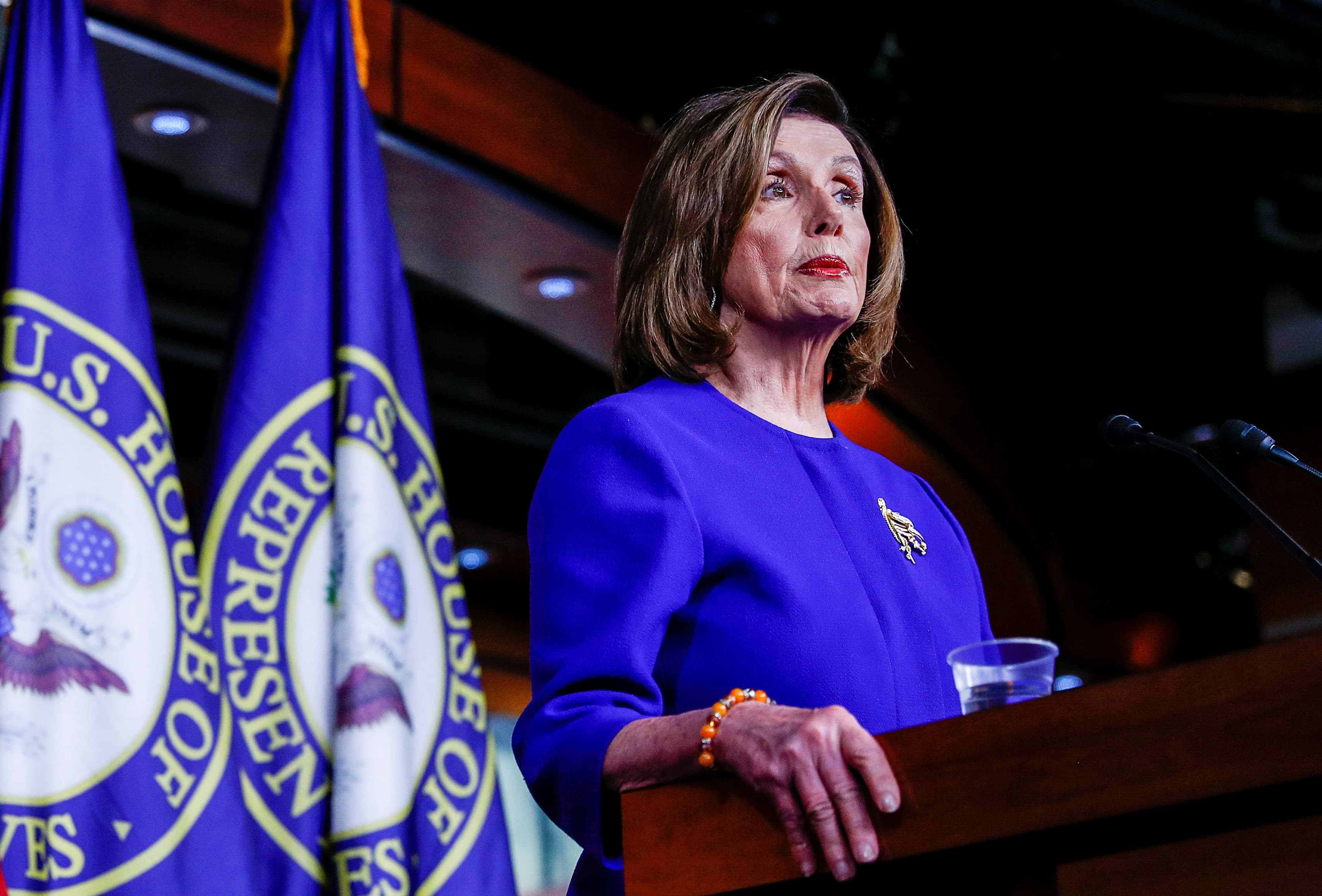 Watch: Nancy Pelosi holds news conference amid debate over articles of impeachment, Iran tensions