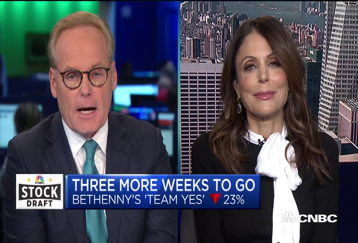 Bethenny Frankel on how her stocks are faring in 2019 CNBC Stock Draft