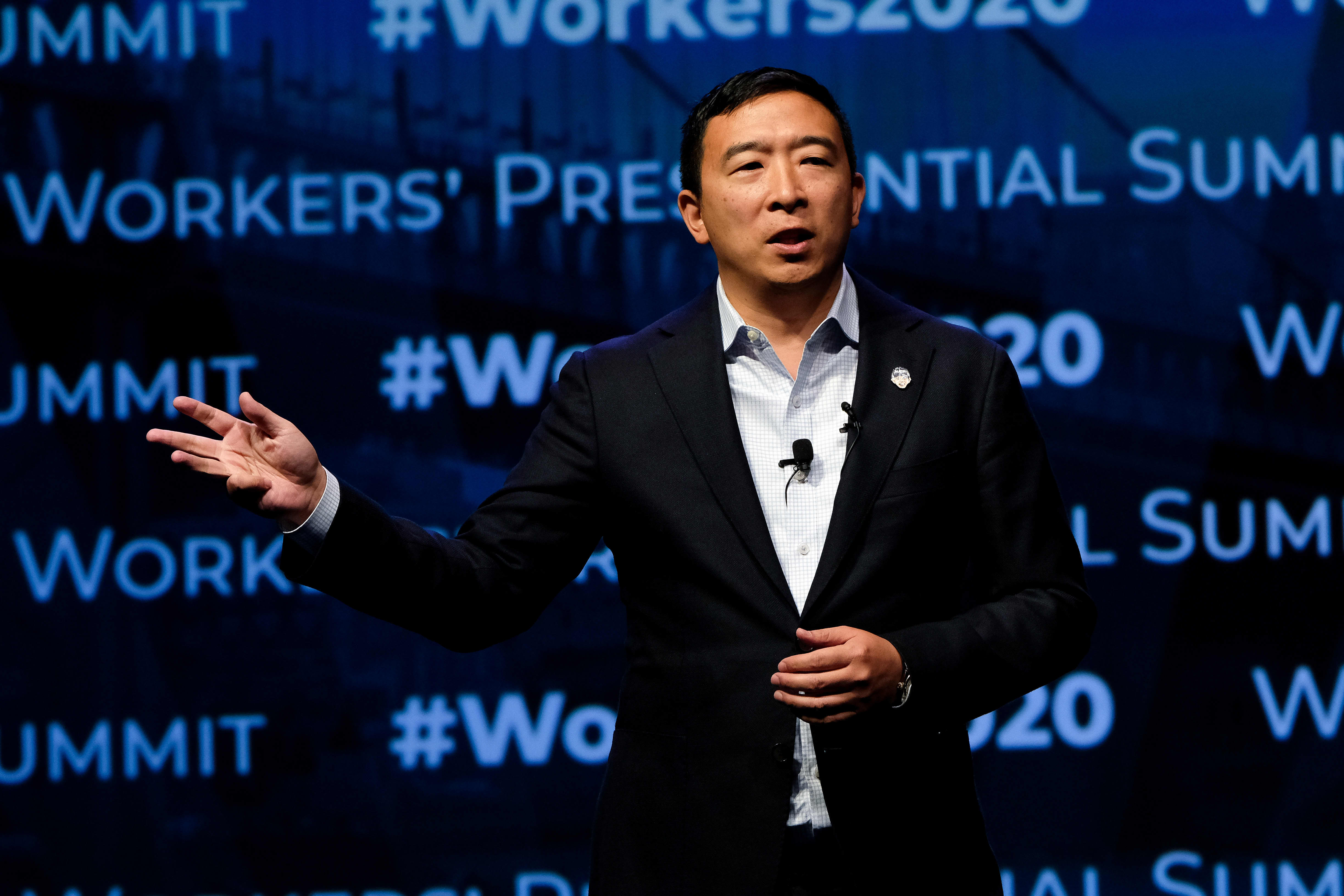 Andrew Yang's staff become latest campaign workers to unionize