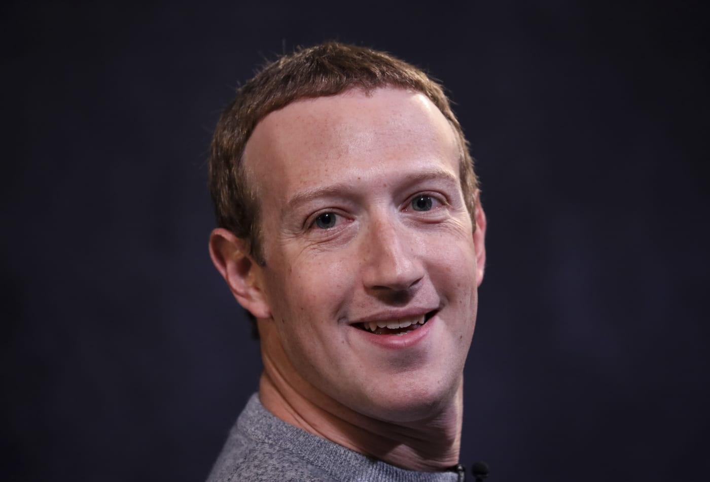 Mark Zuckerberg: I need downtime 'where I'm not 'Mark Zuckerberg'