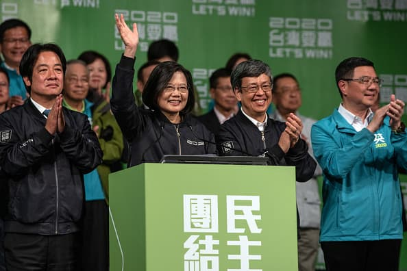 Taiwan reelects president in landslide win as voters oppose China influence