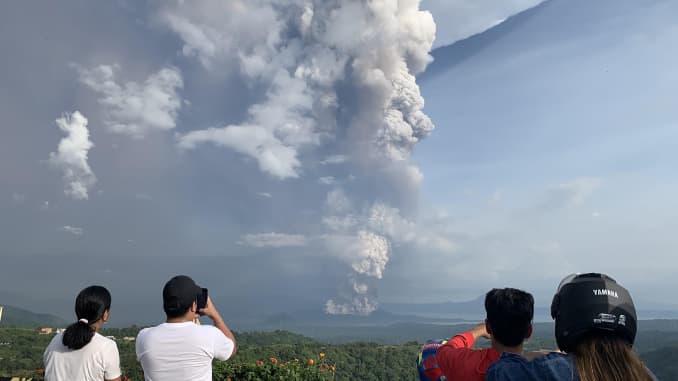 GP Manila volcano