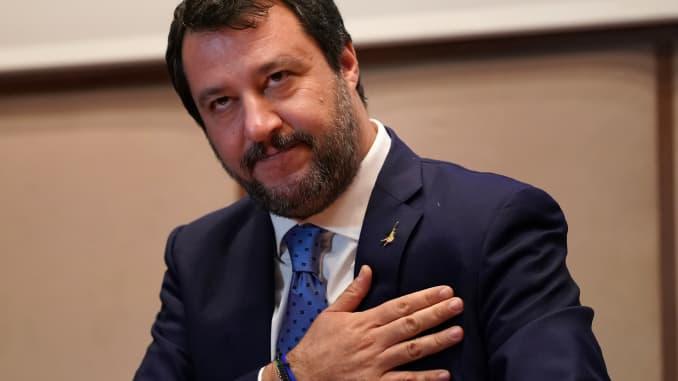 GS - Matteo Salvini in Reggio Calabria
