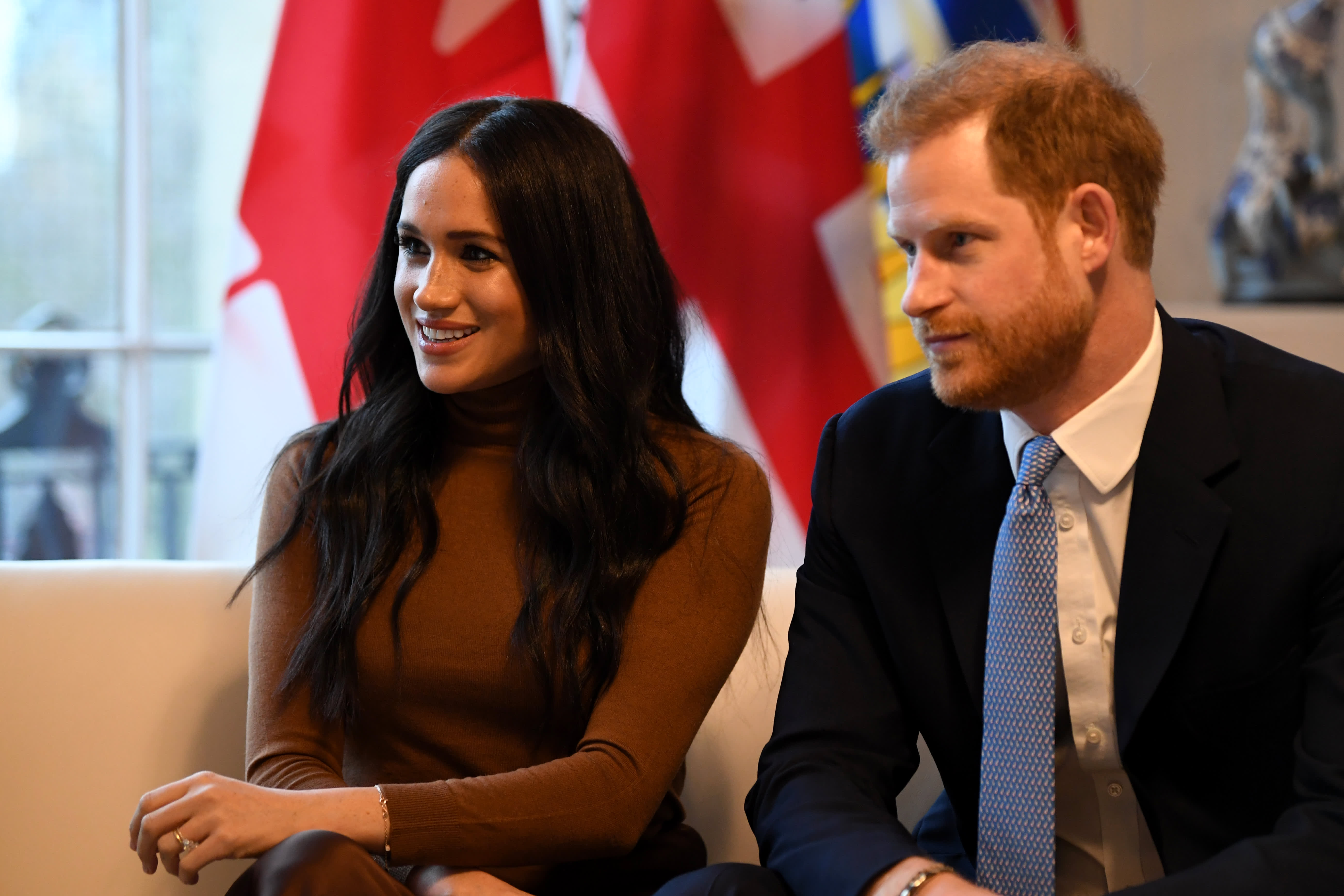 Prince Harry and Meghan Markle will no longer use 'royal highness' titles or receive public funds for royal duties
