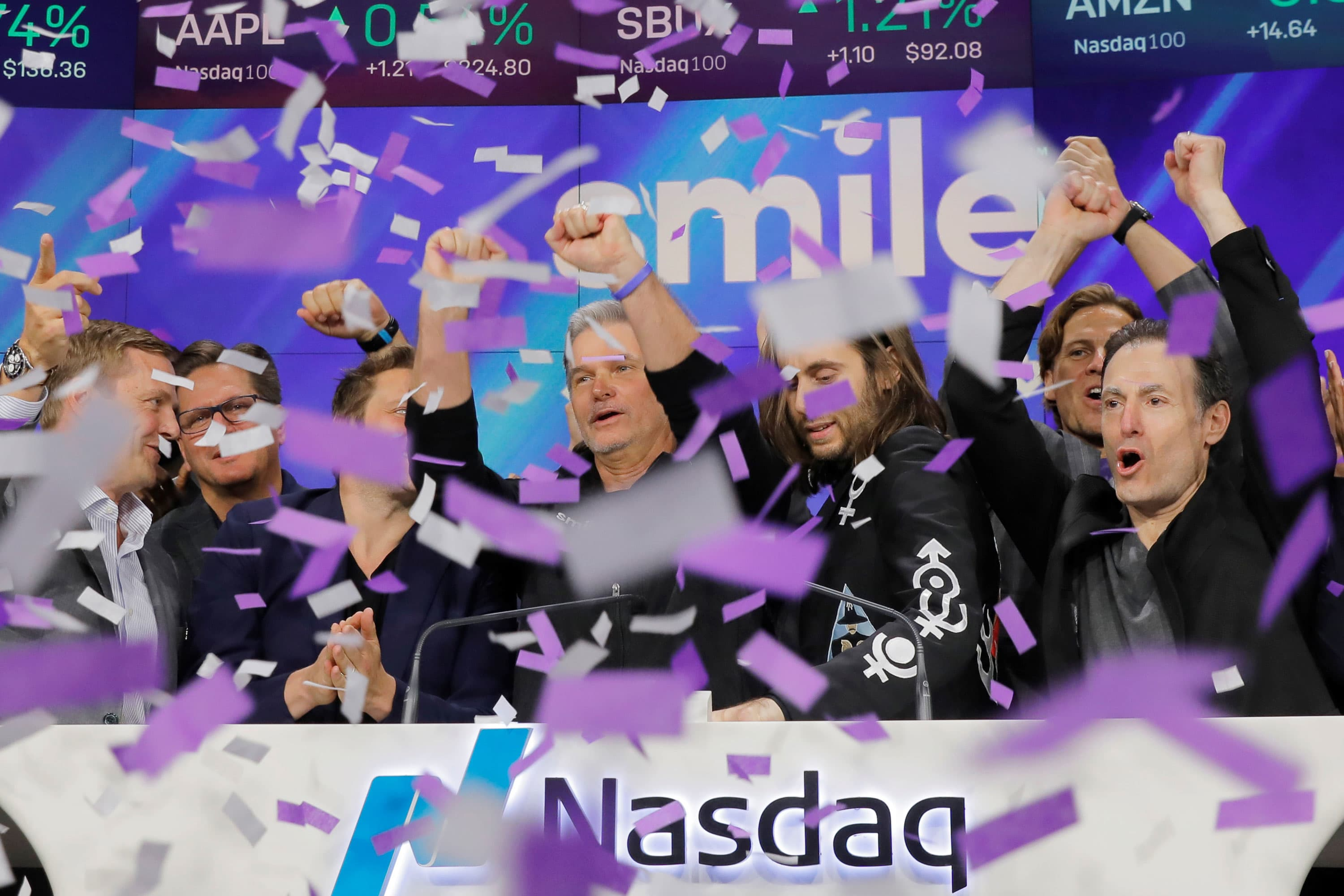 SmileDirectClub stock rises 15% on news it will sell its aligners to...
