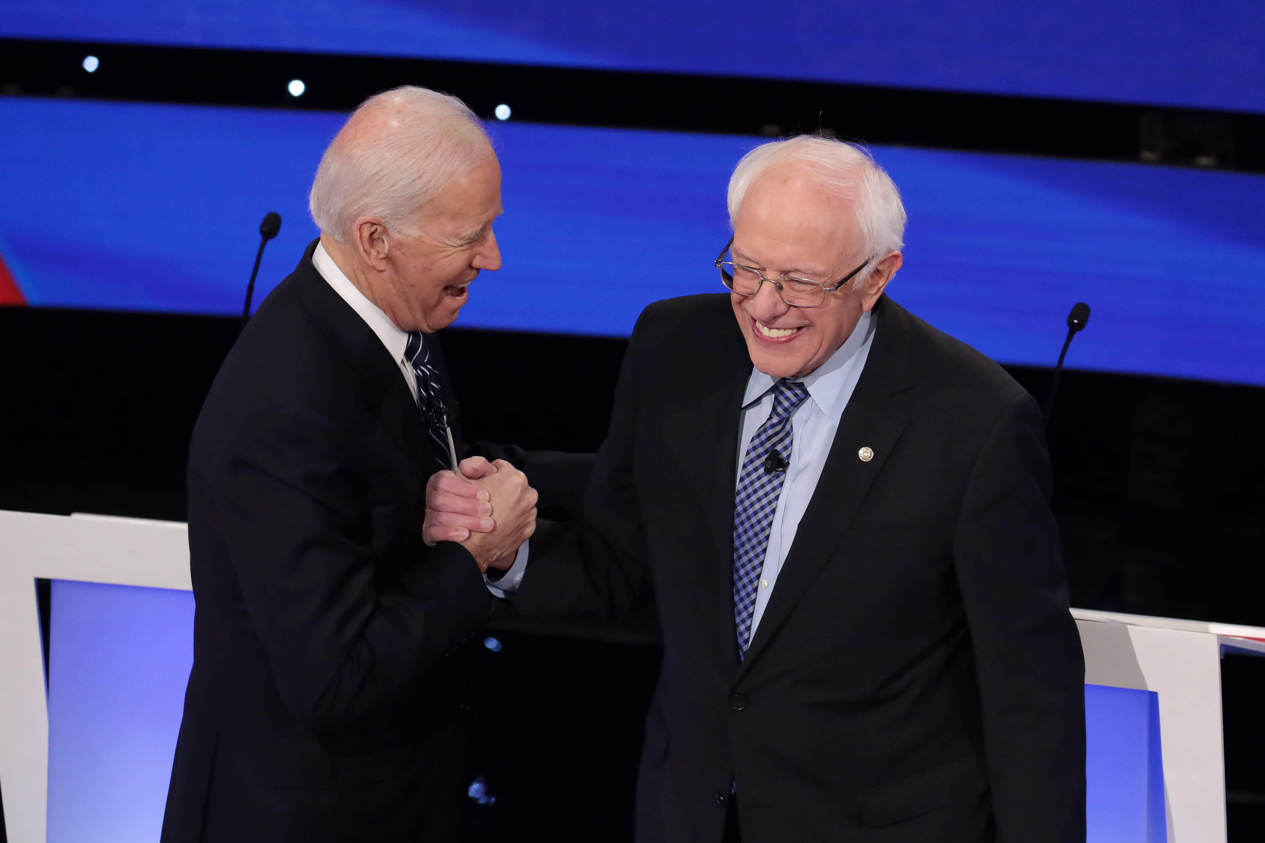 Both Biden and Sanders want to boost Social Security benefits. So why are they fighting on the issue?
