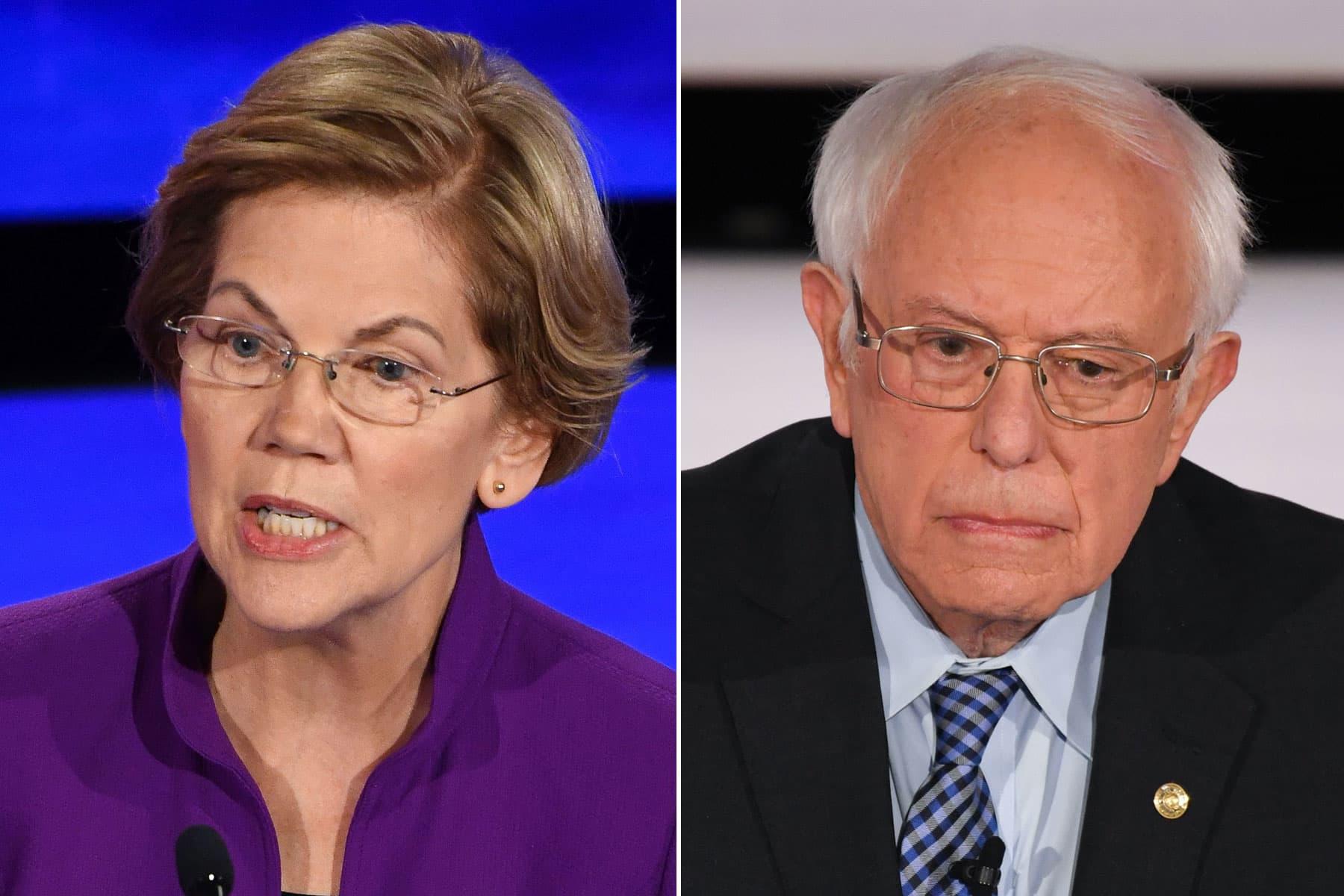 Bernie Sanders and Elizabeth Warren square off over Trump's USMCA trade deal