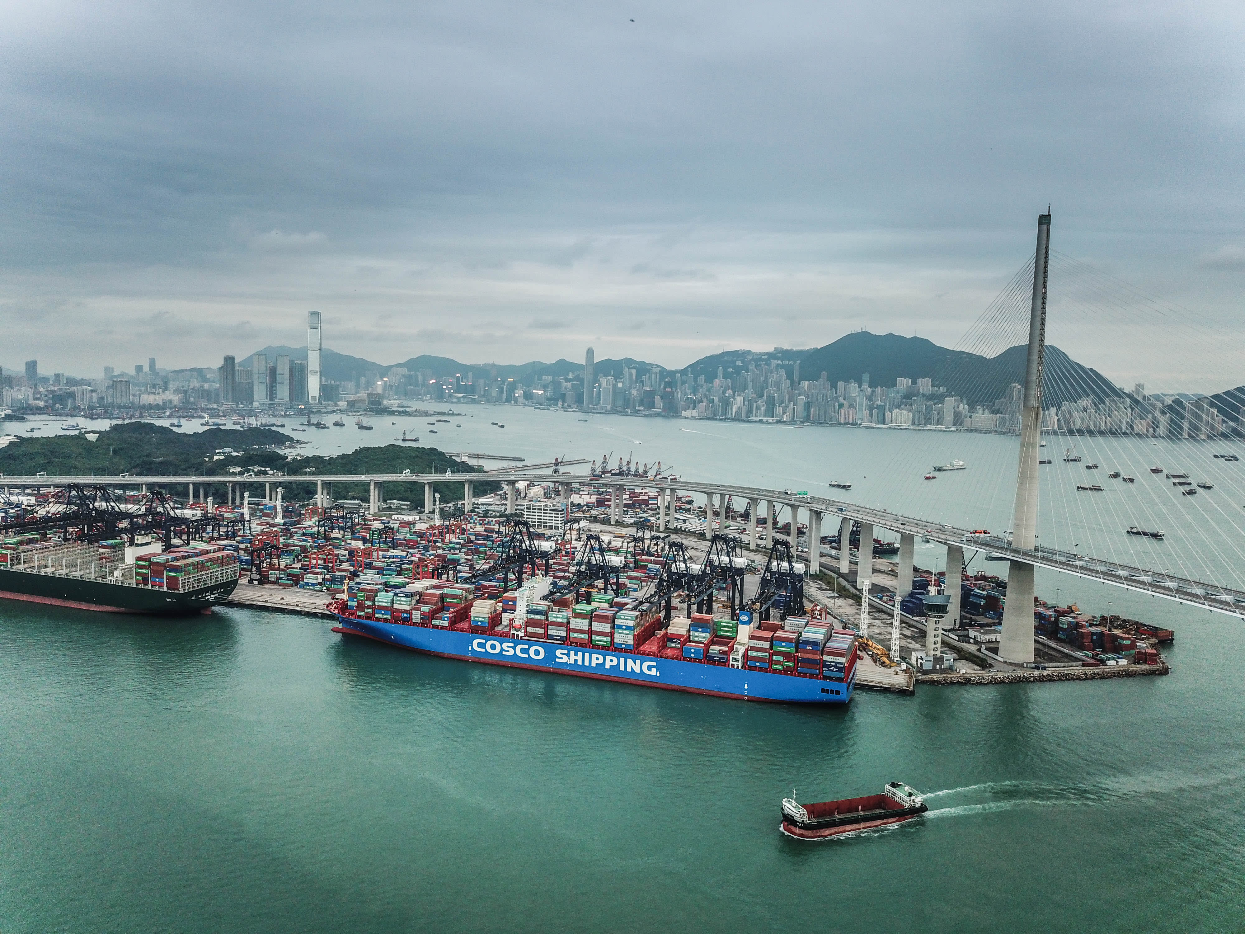 China-US phase one deal could give Hong Kong's port a much-needed boost