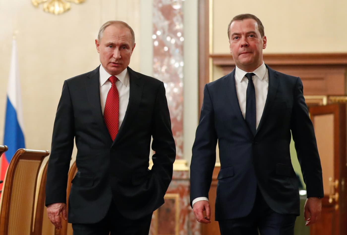 Russia's government just resigned, says a report citing the prime minister